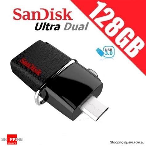 Sandisk Ultra 3 0 128gb sandisk 128gb ultra dual otg usb flash drive 3 0 sddd2