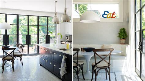 interior design classic bistro style kitchen packed