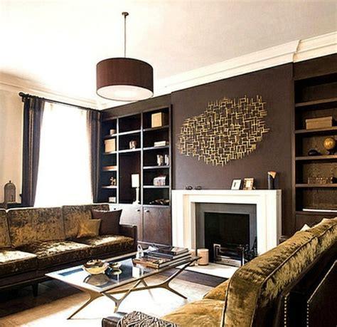Wall Color Brown Tones  Warm And Natural Interior