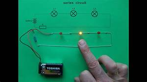 Series Circuit - 3 Leds  U0026 0 Switches