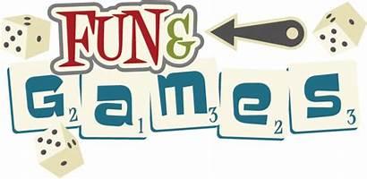 Fun Games Title Svg Dice Cut Night