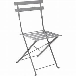 Chaise Suspendue Jardin : chaise de jardin en acier flore gris leroy merlin ~ Teatrodelosmanantiales.com Idées de Décoration