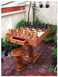 outdoor chess table 25+ best ideas about Chess table on Pinterest ...