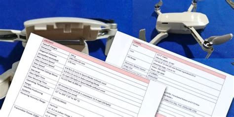 dji mavic mini  registered  fcc camera news