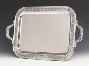 Tray, Silver Plate Rectangular Taylor Rental Plano