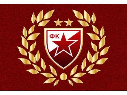 crvena zvezda grb poster    cm kupindocom