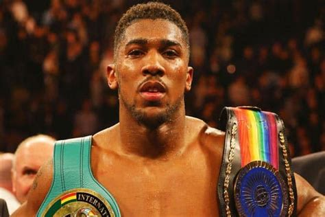 Report: UFC Looking To Sign Anthony Joshua To Big Money Deal