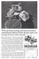 Bolens Estate Keeper 1966 Ad Via  Advertisementgallery