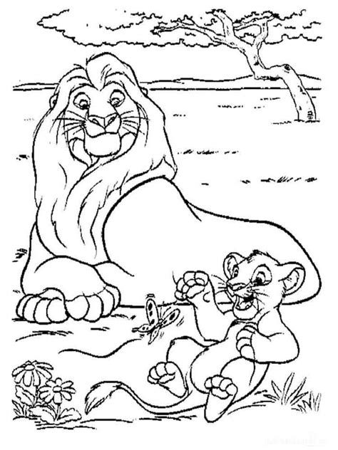 lion king coloring pages   print  lion