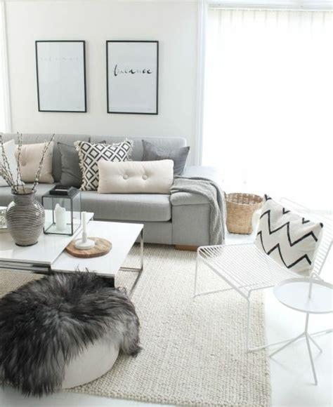 decoration sejour gris et blanc d 233 co salon gris 88 id 233 es pleines de charme
