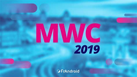 mwc 2019 5g smartphones pliables les nouveaut 233 s