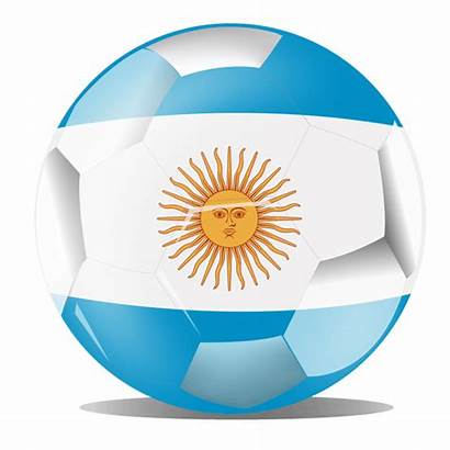 Argentina Flag Football Transparent Svg Clipground Vexels