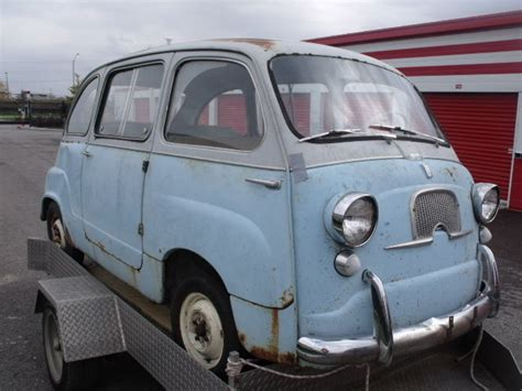 Fiat 600 Multipla For Sale by 1958 Fiat 600 Multipla Microcar Price Lowered To Sell