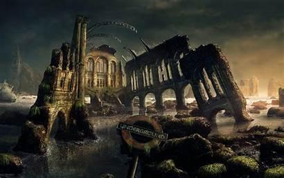 Fantasy Scenery Gothic Dark Desktop Artwork Marco