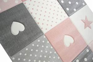 Teppich Kinderzimmer Rosa : hearts stars rosa barnmatta ~ Yasmunasinghe.com Haus und Dekorationen