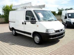 Fiat Ducato 11 C1A 2005 Box-type delivery van Photo and Specs