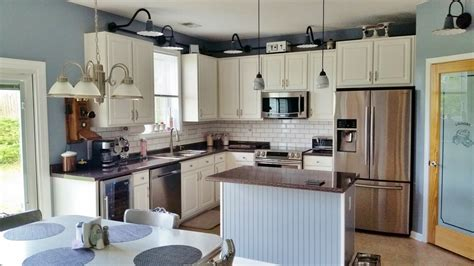 kitchen lighting gets upgrade with porcelain wall lights