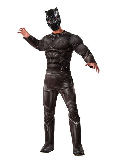 civil war black panther men costume superhero costumes