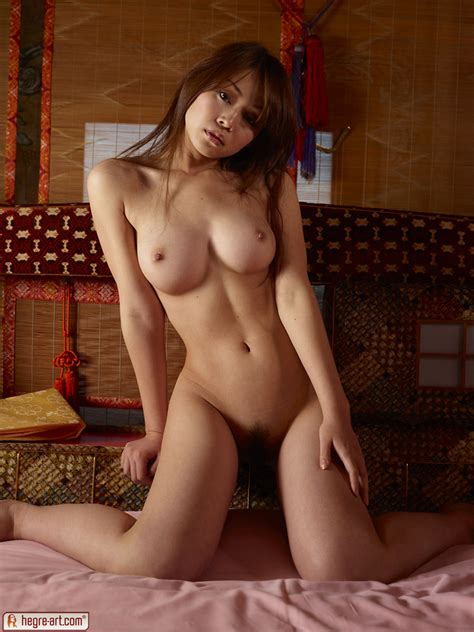 Busty Asian Rie By Hegreart Photos Erotic Beauties