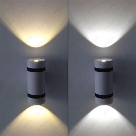 6w led cob up down light fixture wall sconces l canteen