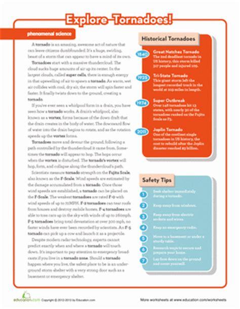 tornado worksheets high school tornado best free