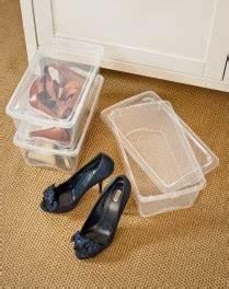 Boite A Chaussure Plastique : boite plastique transparente opaque avec couvercle pour rangement ~ Teatrodelosmanantiales.com Idées de Décoration