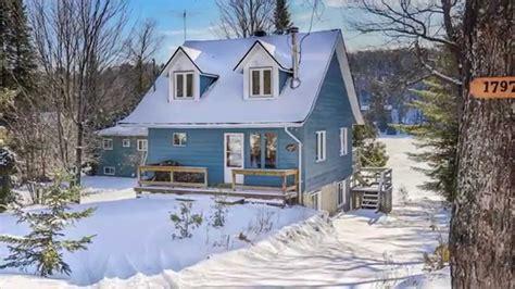 diaporama immobili 232 re maison canadienne au bord du lac
