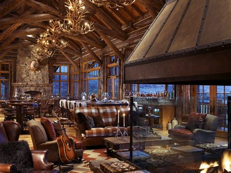 luxury dude ranch galleries  images rustic home