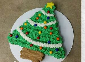 Christmas Tree Pull apart Cupcake CAKE. Cake Decor - YouTube