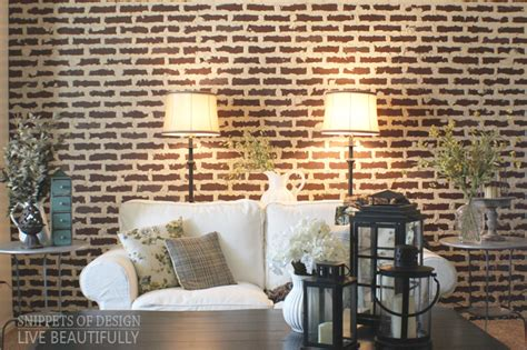 decorating inspiring wall ideas  interesting faux