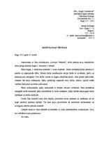 Motivācijas vēstule / Paraugs / CV / ID: 580629