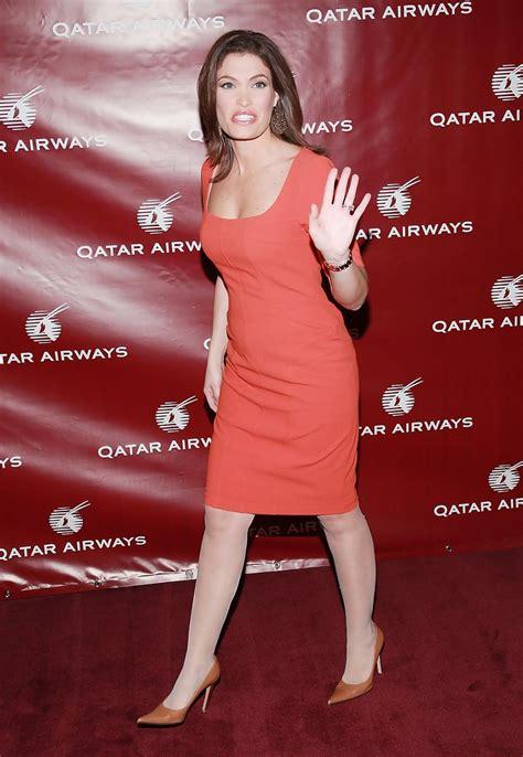 kimberly guilfoyle qatar inaugural airways hosts gala celebrate zimbio