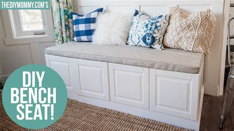 Robin's bench sat over an air vent so they had to direct i really love this i have been looking for windows seat plans theses are great, could you put drawers in the cubbies or doors? Kitchen Bench With Storage Ikea | Tyres2c