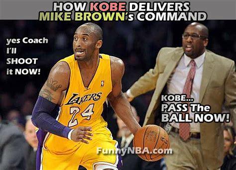 Kobe Bryant and Mike Brown on Losing Streak | NBA FUNNY ...