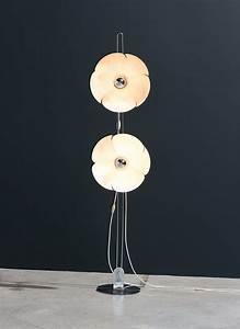 olivier mourgue disderot flower floor lamp circa 1970 With retro flower floor lamp