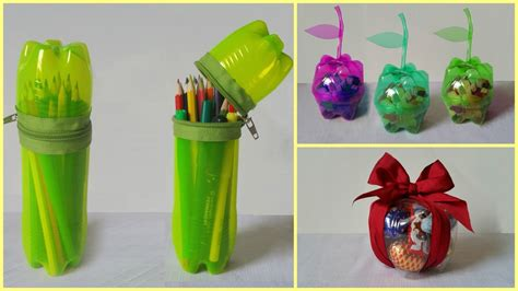 Ideas Using Plastic Bottles by 10 Handicraft Ideas Using Plastic Bottle Lavinski