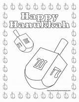 Dreidel Coloring Hanukkah Printable Happy Printables Behance Getcolorings Getdrawings Drawing sketch template