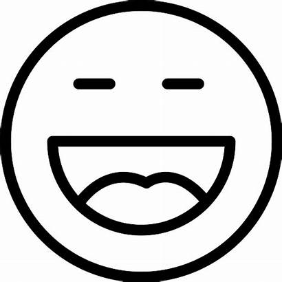 Laugh Icon Icons Svg Lineal Flaticon