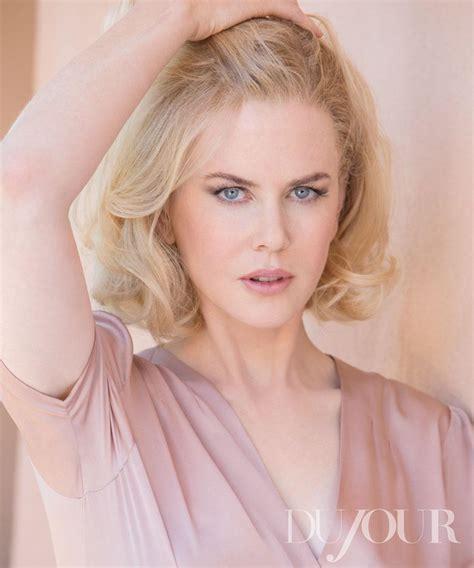 Nicole Kidman for DuJour Winter 2012