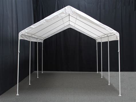 10 X 20 Garage by 10 X 20 Universal Portable Garage Canopy With Enclosure Walls