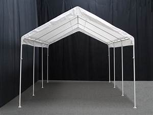 King Canopy 10 Foot X 20 Foot Universal Canopy With White