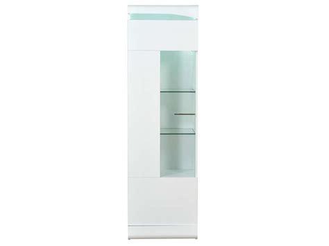 meuble cuisine d été colonne 1 porte ovio coloris blanc laqué vente de buffet bahut vaisselier conforama