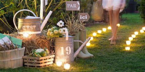 decoration mariage champetre  faire soi meme bruin blog