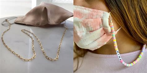 These Cute Face Mask Chains Make Fun Accessories While ...