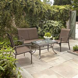 Garden Oasis Harrison 4pc Sling Seating Set ***LIMITED ...