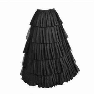 Formal Chic Hot Black Floor Length Long Skirts For Women To Formal Party Long Skirts Fashion ...