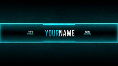 Banner Gaming Template Channel Banners Templates Creator
