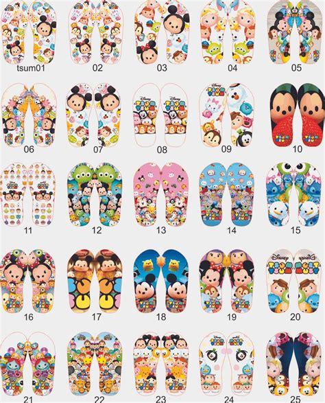 Karpet Karakter Tsum Tsum jual sendal nama anak model disvar karakter tsum tsum best