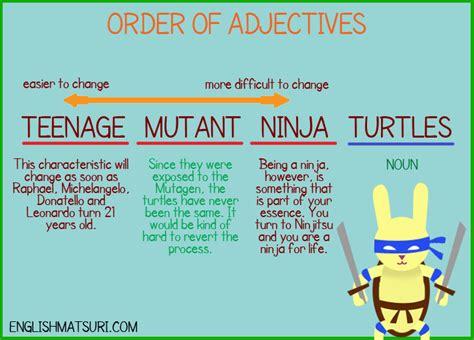 Adjectives  English Matsuri