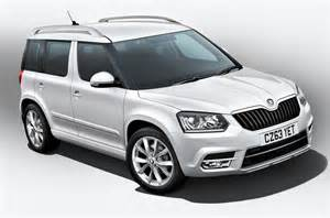 facelifted skoda yeti range with lowered co2 output